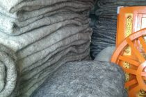 Handgefertigte Schafswollefilz